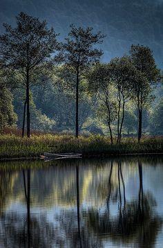Lago Ard, Escocia.
