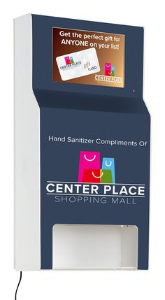 Custom Hand Sanitizer Station with Digital Sign Purell Hand Sanitizer Dispenser, Flu Prevention, Shopping Places, Commercial Flooring, Compliments, Branding, Sign, Photo And Video, Digital