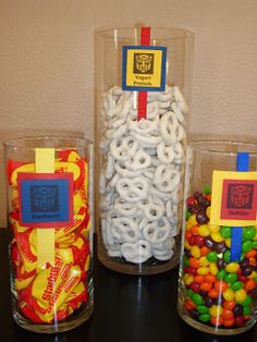 Spoonful of Sugar Custom Candy Buffets: Let's Hear it for the Boys!