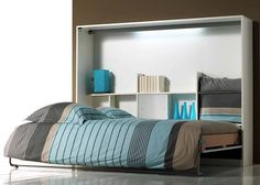 Bed_Base_opklapbed_ruimtebesparend bed Boone_wit_slaapkenner theo bot_140 breed_logee