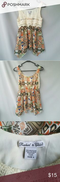 Rachel and Chloe Bohemian Tank This top is so cute and unique!  Feel free to ask me any additional questions! Bundles 15% off 3+ items. Happy Shopping!! ?? Nordstrom Tops Tank Tops