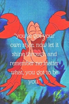 46 trendy ideas for quotes disney little mermaid under the sea Little Mermaid Quotes, Little Mermaid Drawings, Little Mermaid Tattoos, Little Mermaid Art, Little Mermaid Sebastian, Disney Little Mermaids, Mermaid Sayings, Little Mermaid Wallpaper, Mermaid Wallpapers