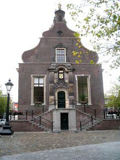 Stadhuis Schiedam., hier ben ik in 1987 met mijn lieve man getrouwd!