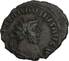 CARAUSIUS 286AD London RARE Authentic Ancient Roman Coin PAX Peace i53552