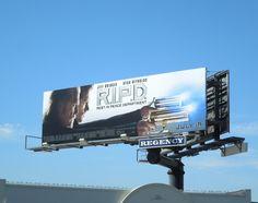 R.I.P.D. movie billboards...