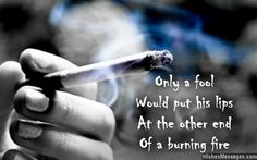 Motivation for smokers to quit smoking
