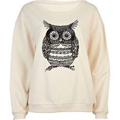 River Island owl jumper