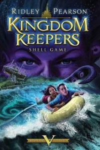 Kingdom Keepers V: Shell Game  I am greatly anticipating the release of this fifth installment in the Kingdom Keepers series. It takes place on a Disney cruise ship. The first chapter is out online, but I'm going to wait until I get the entire book. I'm sure this book will be just as good as the others! In anticipation for it, I give it Six and a Half Keepers out of Seven.
