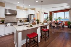 Plan 3 Cortona ~ Gourmet Kitchen The Enclave at Oakwood Shores in Manteca