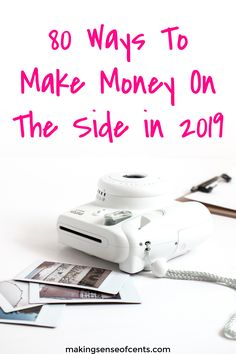 80 Ways To Make Money On The Side in Make money. Make money online. Make money work from home. Money tips. Earn Money From Home, Make Money Blogging, Way To Make Money, Money Saving Tips, Make Money Online, Money Tips, Money Hacks, Endocannabinoid System, Planning Budget