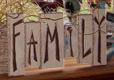 Family Signboard. . .