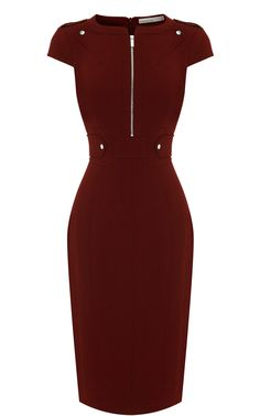 Whatever the occasion – be it work or play – our collection of exclusive dresses is filled with endless possibilities and beautiful looks. Cute Dresses, Dresses For Work, Shift Dresses, Dress Skirt, Dress Up, Professional Attire, Karen Millen, Classy Dress, Office Outfits