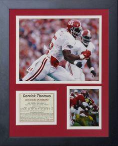 Derrick Thomas - Alabama Framed Memorabilia d67def06a