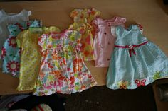 Schappers: Modest Baby Girl Clothes DIY
