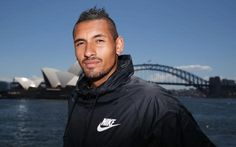 Exclusive interview - Nick Kyrgios: 'I was in a dark place but my girlfriend has brought perspective to my life' Maria Sharapova, Dark Places, Sports Stars, Tennis Players, Girlfriends, Perspective, Hot Guys, Interview, Greek