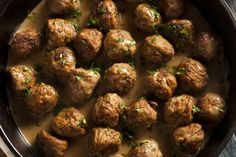 Low Carb Recipes To The Prism Weight Reduction Program Simple Swedish Meatballs Made With Ground Chicken Or Turkey Lower Calorie Content And Lower Fat Content High Protein Slow Cooker Recipes, Low Carb Recipes, Beef Recipes, Cooking Recipes, Healthy Recipes, Skinny Recipes, Bison Recipes, Healthy Dinners, Weeknight Meals