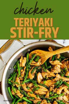 Skip the take-out and make this delicious Chicken Teriyaki Stir Fry at home! In less than 30 minutes of hands-on time, you have a wholesome meal that tastes just as good as carry-out and fits in perfectly with your low carb diet. You are going to love the delicious marinade for this easy stir fry. This easy recipe is one I turn to again and again!