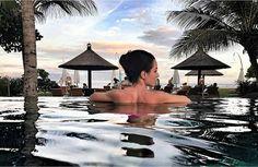 WEBSTA @ ayodyabali - Pretty as it seen. : @neveronica #beachfront #infinitypool #ayodabali #holiday