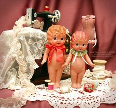 Celluloid Dolls by dressy doll, via Flickr