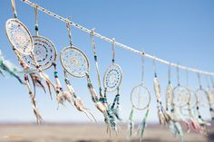 i wanna own so many dream catchers that i can just keep stringing them like this across the ceiling of my room