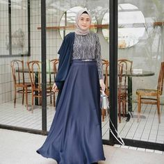 Photos and Videos – Hijab Fashion 2020 Dress Brukat, Hijab Dress Party, Hijab Style Dress, Modest Fashion Hijab, Abaya Fashion, Batik Dress, Muslim Fashion, Dress Outfits, The Dress