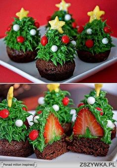 #Christmas treats with strawberries and chocolate... yummy!