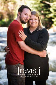 Engagement Photo, Mountain, River, Colorado, Travis J Photography