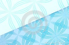 Abstract background of patterned pieces of cut cardboard.
