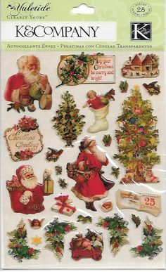K & Company Clearly Yours  Yuletide Icons by CynthiasCraftingNook