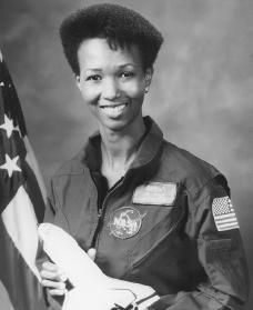 Mae Carol Jemison is an American physician and NASA astronaut. She became the first black woman to travel in space | Courtesy of U.S. National Aeronautics and Space Administration. 1956