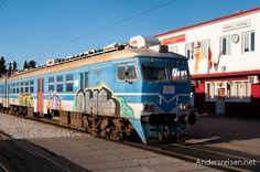 Reisetagebuch: Fahrkarten-Kauf in Podgorica - Montenegro