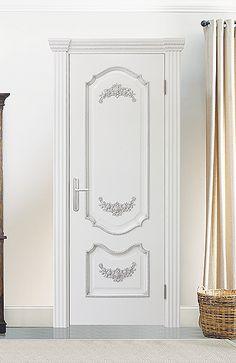 Межкомнатная дверь «Сицилия». Отделка «белая эмаль» #дверирулес #двери…