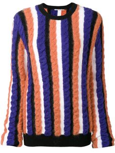 MARCO DE VINCENZO Cable Knit Jumper. #marcodevincenzo #cloth #jumper