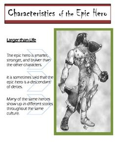 essay on why beowulf is an epic hero Essay example made by a student being a hero can be defined many different ways several qualities like courage, respect, and strength can define heroism a hero is.