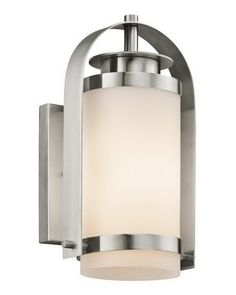 Kichler Lighting 49314 SS One Light Exterior Outdoor Wall Mount in Stainless Steel