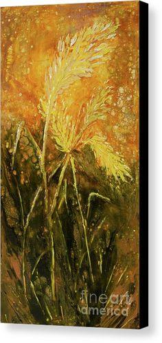 Semi-abstract crop/grass in the summer scorch, painted by Alexandra Kiczuk in Canvas Art, Canvas Prints, Bedroom Art, Got Print, Canvas Material, Fine Art America, Original Artwork, Art Gallery, Wall Art