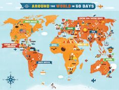 Growing Deep Roots- around the world in 60 days Bible lesson and culture lessons