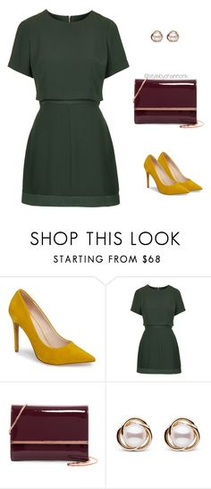 """Work Wear"" by stylebyshannonk on Polyvore featuring Topshop, Ted Baker and Trilogy"