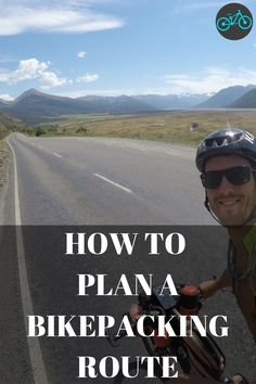 A guide for how to plan a bikepacking route. You are new to bikepacking and want to give it a try but wonder how to get started on planning a route. Plan A, How To Plan, Bike Photo, Cycling Tips, Runners World, Water Activities, Bicycle Design, Find Picture, Outdoor Woman