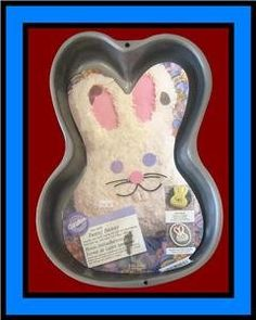 Wilton Funny Bunny Rabbit NonStick Cake Pan Mold 21051518 1998 * Learn more by visiting the image link. (This is an affiliate link) Funny Bunnies, Baking Supplies, Cake Pans, Baking Pans, Bunny Rabbit, Baking Recipes, Sweet Treats, Treasure Chest, Barn Doors