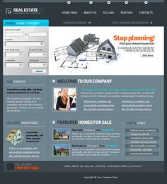 9 best free css templates images on pinterest website template continuing the theme of free templates at this time weve prepared an excellent collection of best free realestate templates now there are so many real wajeb Choice Image