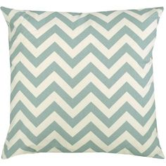 I pinned this Rio Pillow in Powder Blue from the Zig Zag Pattern & Pop event at Joss and Main!
