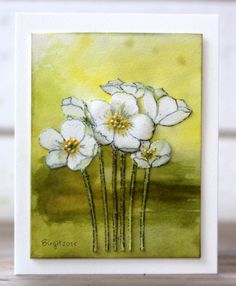 TLC548 Anemones by Biggan - Cards and Paper Crafts at Splitcoaststampers