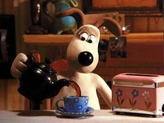 Wallace and Gromit. Movie Talk, I Movie, Shaun The Sheep, Doodles, Gif Animé, Jolie Photo, Stop Motion, Dreamworks, My Childhood
