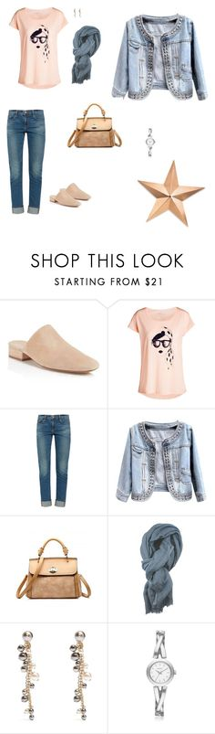 """""""Sunny"""" by lle00000 ❤ liked on Polyvore featuring Vince, Pieces, Frame, canvas, Lanvin, DKNY and Thos. Baker"""