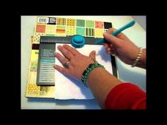 Envelope Punch Board Tutorial - Making File Folders - can't wait to do this with the one I just ordered from Stampin' Up!