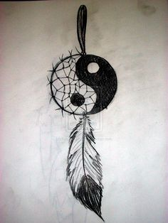 Yin Yang Dream Catcher by KohanaGirl222.deviantart.com on @deviantART