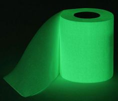 For a gift that will make your friends and family cringe and laugh at the same time, look no further than this glow in the dark toilet paper! This toilet...