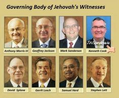 JW.ORG   GOVERNING BODY   January 24, 2018 Kenneth Cook Appointed to the Governing Body __________________________________________________ As of January 24, 2018, the eight anointed members of the Governing Body are Kenneth Cook, Samuel Herd, Geoffrey Jackson, Stephen Lett, Gerrit Lösch, Anthony Morris III, Mark Sanderson, and David Splane. They serve at our world headquarters in Warwick, New York, U.S.A.