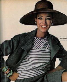 Marisa Berenson.  Photo by Irving Penn, 1966.